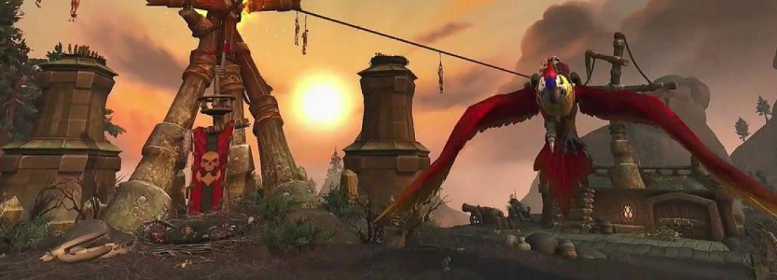 Update: Spieler werden in Patch 8.2 endlich fliegen können