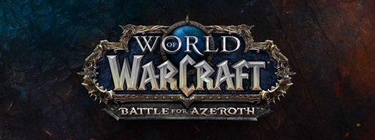 WoW: Ausgewählte Spieler dürfen BfA 3 Tage lang testen