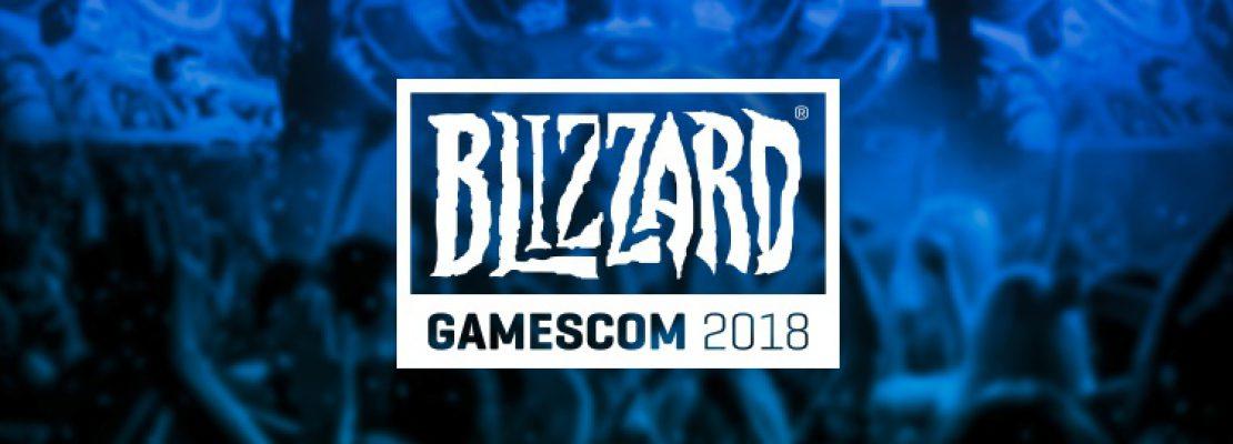 Blizzard: Die Entwickler sind auf der Gamescom 2018