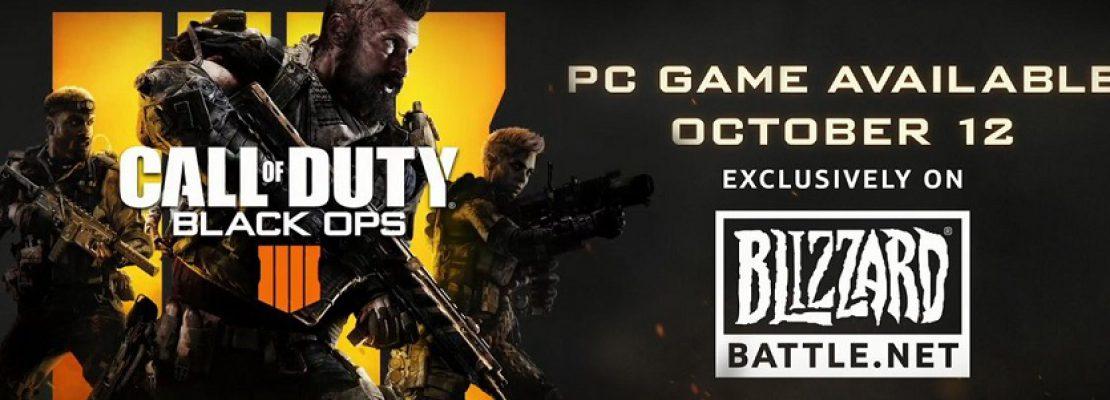 CoD Black Ops 4 wird über die Blizzard App erhätlich sein