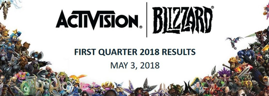 Blizzard: Der Earnings Call für das erste Quartal 2018