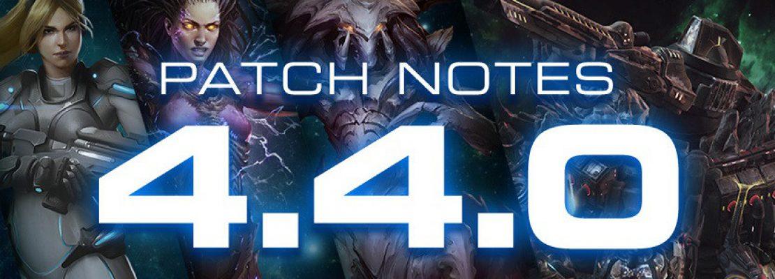 SC2: Die Patchnotes zu Patch 4.4.0