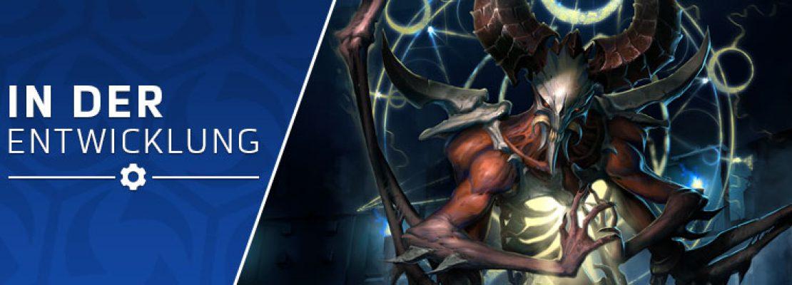 In der Entwicklung: Mephisto und neue Skins