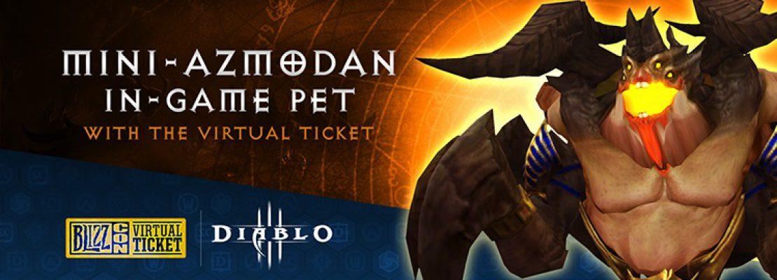 Diablo 3: Die Belohnung aus dem virtuellen Ticket