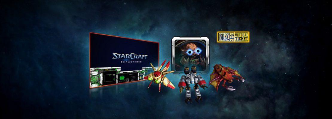 Starcraft: Die Belohnungen aus dem virtuellen Ticket