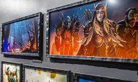 Eine Ausstellung zu Battle for Azeroth im Blizzard Museum