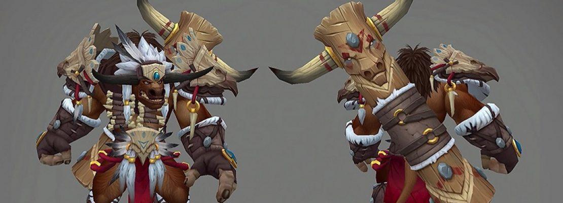 Patch 8.2: Neue Traditionsrüstungssets für Tauren und Gnome