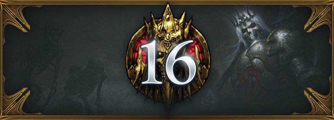 Diablo 3: Saison 16 wurde gestartet