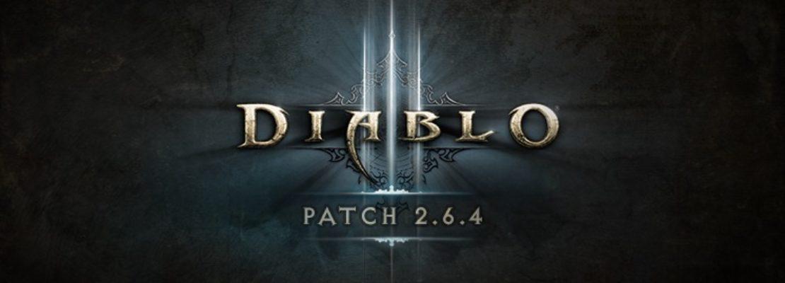 Diablo 3: Die Patchnotes zu Patch 2.6.4