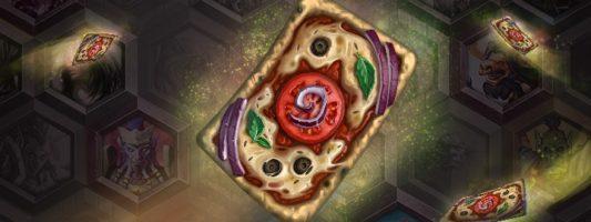 59. Hearthstone-Saison: Der Pizza-Kartenrücken
