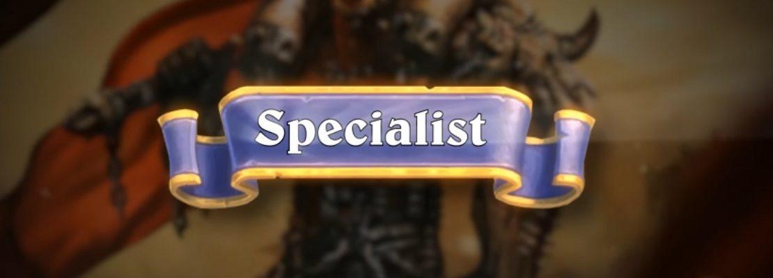 Hearthstone: Das Spezialistenformat für kompetetive Events