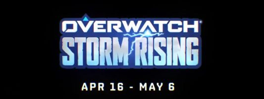 Overwatch-Archiv: Storm Rising startet am 16. April