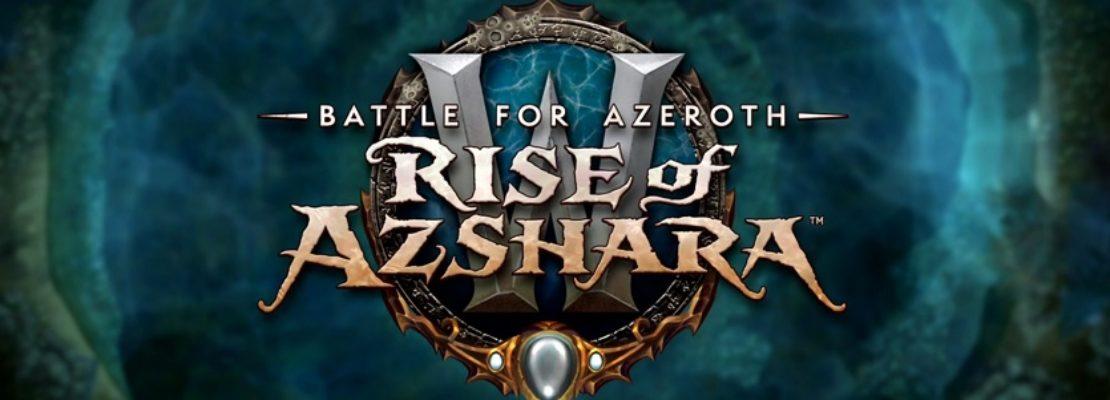 BfA: Neue Informationen zu Patch 8.2: Rise of Azshara und dem PTR