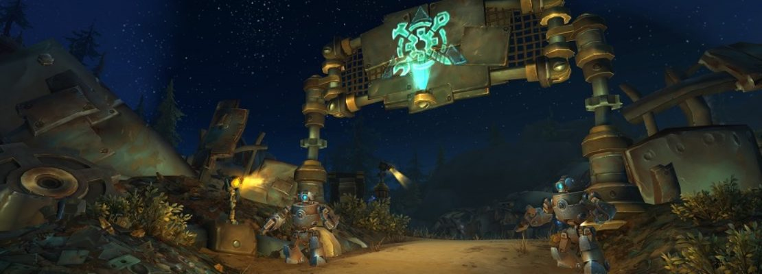 World PvP: Die Blutige Grotte in Mechagon