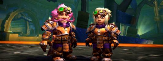 Patch 8.2: Die Questreihe zum Freischalten des Traditionsrüstungssets für Gnome
