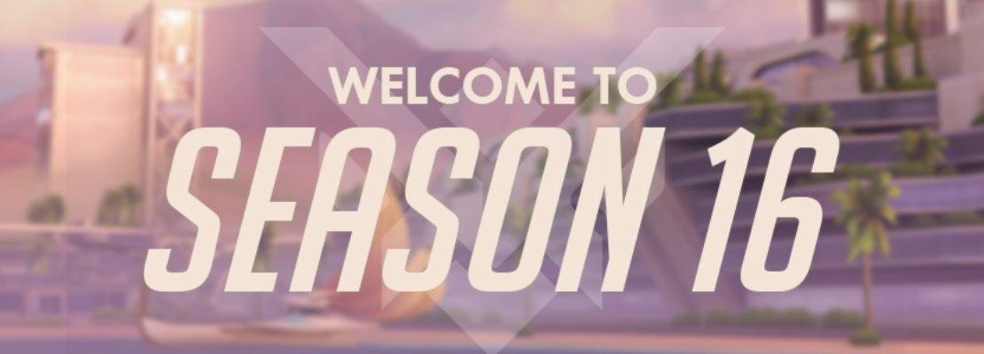 Overwatch: Die sechzehnte Saison wurde gestartet