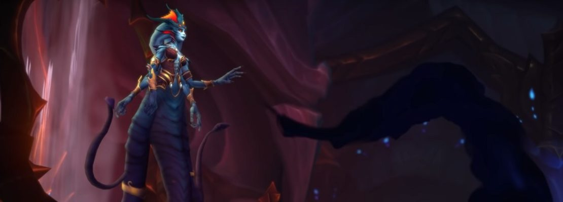 Patch 8.2: Das Intro-Cinematic für Nazjatar