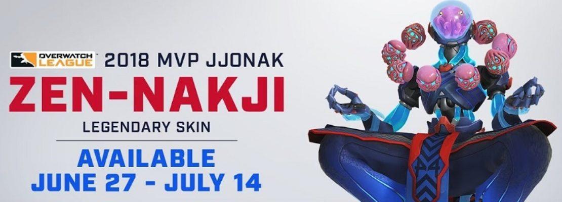 Overwatch: Ein neuer legendärer MVP-Skin für Zenyatta