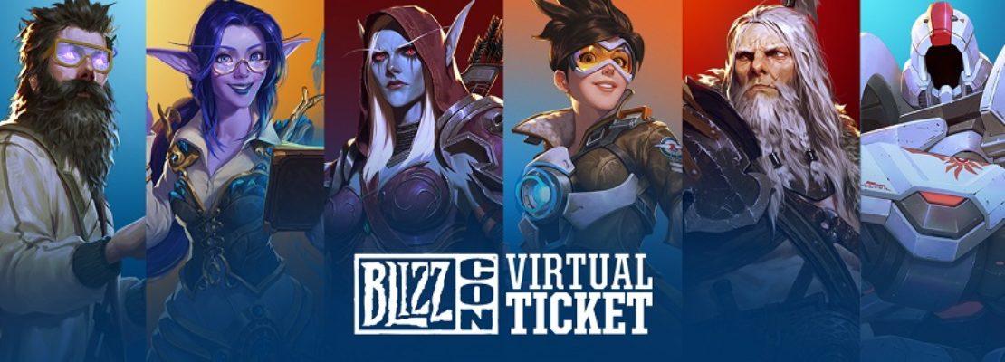 Blizzcon 2019: Der Verkauf des Virtuellen Tickets wurde gestartet