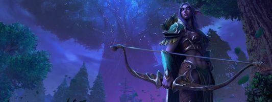 Warcraft III Reforged: Die Entwickler über die Neugestaltung der Nachtelfen