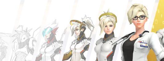 Overwatch: Ein Beitrag zu der Entstehungsgeschichte von Mercy