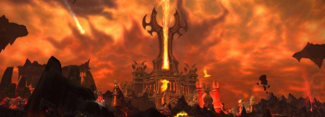 Zeitwanderungen für Cataclysm: Die Feuerlande können besucht werden