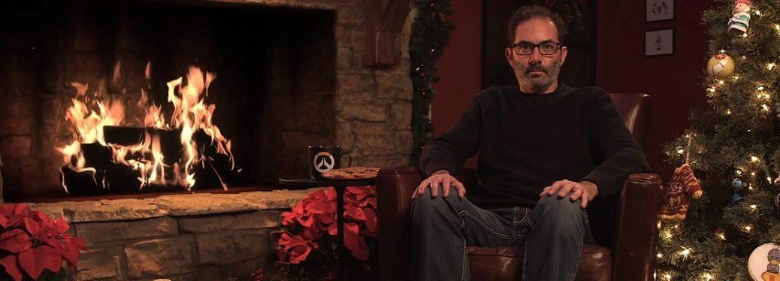 Overwatch: Eine geheime Botschaft im Yule Log Livestream