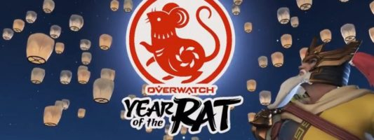 Overwatch: Das Jahr der Ratte wurde gestartet