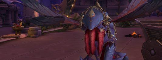 Patch 8.3: Die Questreihe für die Schattendorndrohne kann gestartet werden