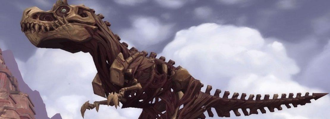 Hinweis: Der Weltboss Kraulok ist aktiv und er kann ein Alpaka-Mount droppen