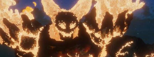 WoW Fan-Art: Mehrere Charaktere in Minecraft nachgebaut
