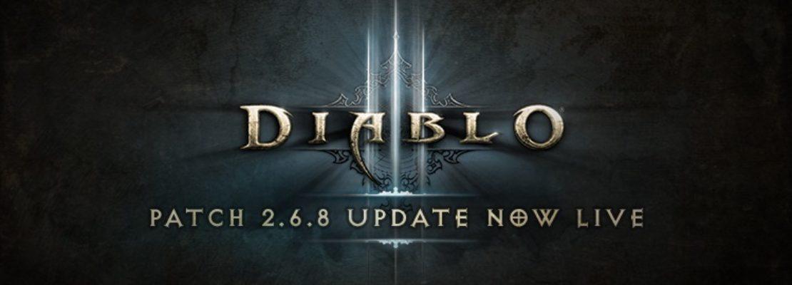 Diablo 3: Der neue Patch 2.6.8 wurde veröffentlicht