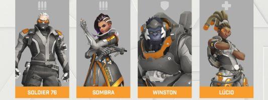Overwatch League: Die Helden aus dem aktuell gesperrten Hero Pool