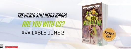 """Overwatch: Das Buch """"The Hero of Numbani"""" erscheint am 02. Juni"""