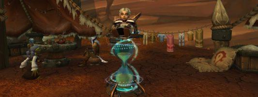 Chromie in Shadowlands: Die Auswahl einer Erweiterung in der Levelphase