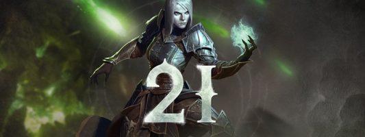 Diablo 3: Die Saison 21 endet am 08. November