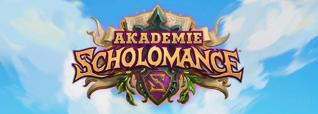 Akademie Scholomance: Eine neue Erweiterung mit Doppelklassenkarten