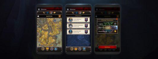 Shadowlands: Eine Vorschau auf die neue Companion App
