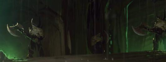 Nachleben: Warum tauchen Dämonen in dem zweiten Kurzfilm auf?