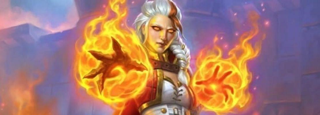 Hearthstone: Ein nicht verwendetes Artwork für Feuermagierin  Jaina