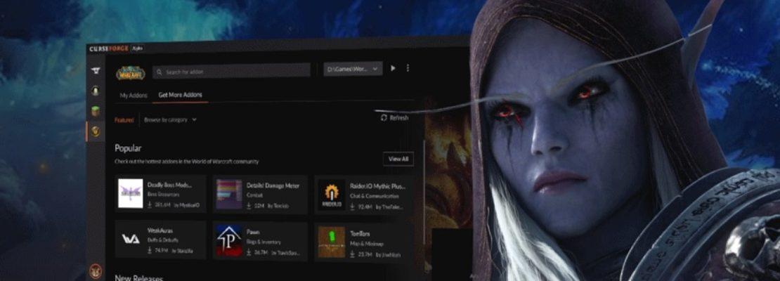 WoW: Overwolf hat die Testphase für ihre CurseForge App gestartet