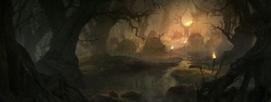 Diablo Immortal: Die Modelle für die Wildtiere und Sumpfmonster des Spiels