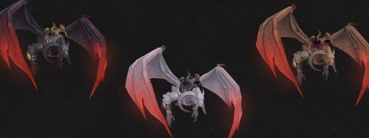 Patch 9.1: Das Fliegen und neue paktspezifische Reittiere