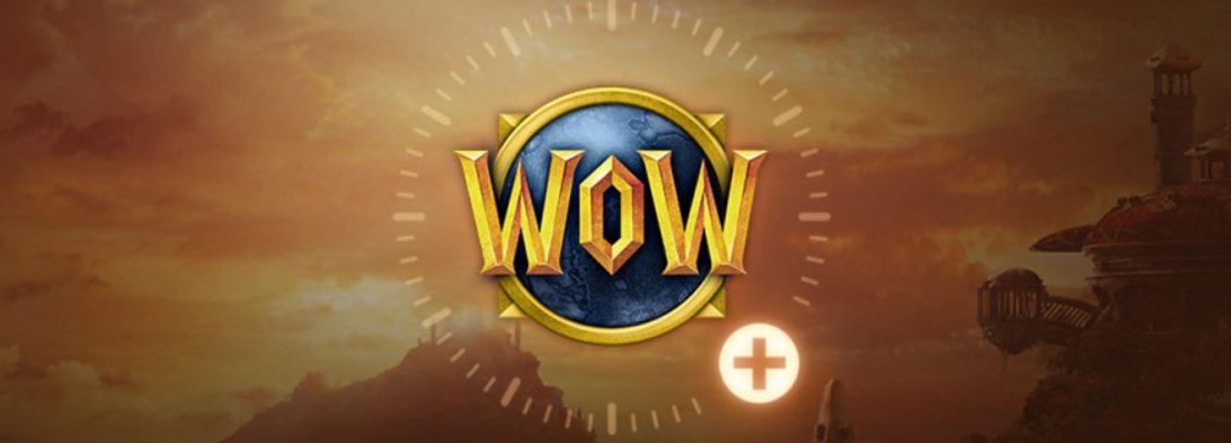 WoW: Direkte Spielzeit kann nur noch für 60 Tage erworben werden