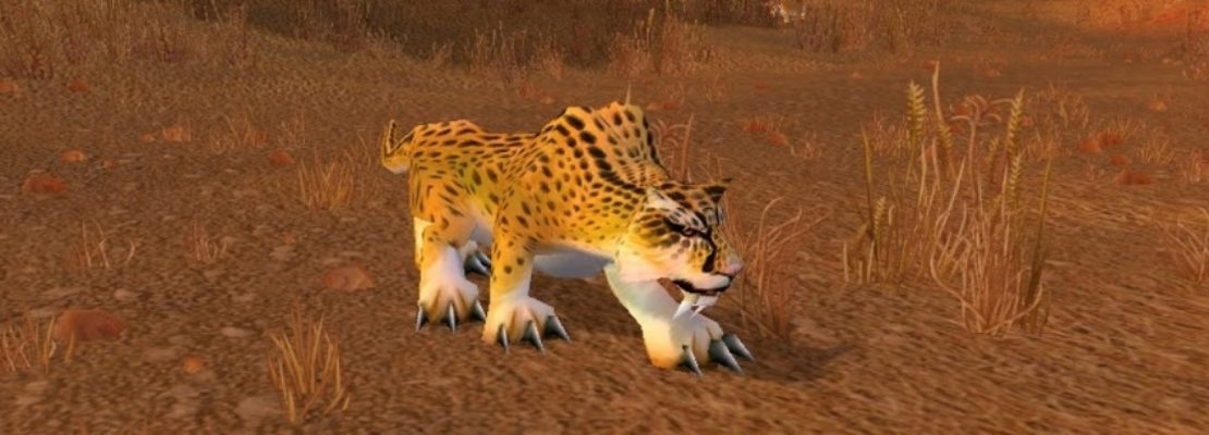 Patch 9.1: Eine neue Sprunganimation für die Gepardengestalt