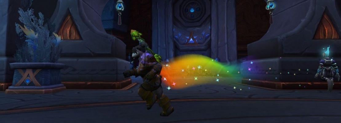 Patch 9.1: Ein neuer Klunkerwurm gewährt Spielern einen Regenbogen-Effekt