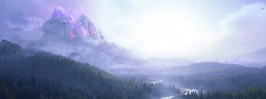 WoW: So könnte die Azurmythosinsel in Unreal Engine 4 aussehen