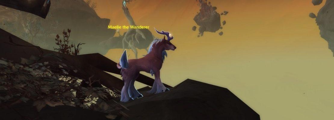 Maelie the Wanderer: Ein neues Mount aus Patch 9.1 erlangen